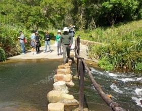 Baakens valley river crossing